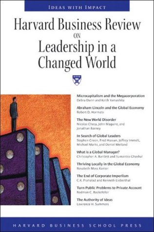 Harvard Business Review on Leadership in a Changed World by Harvard Business Review