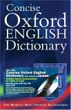 Concise Oxford English Dictionary with CDROM by Oxford University Press