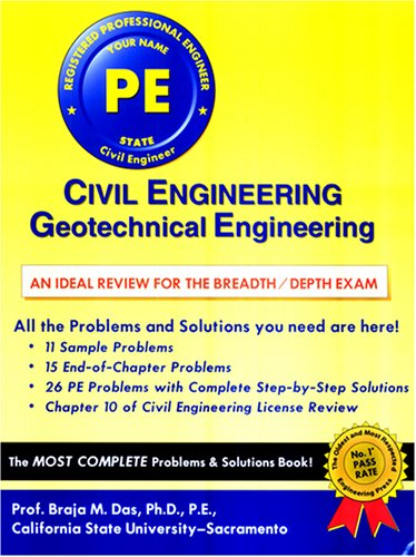 Civil engineering geotechnical engineering an ideal review for the 204209 fandeluxe Gallery