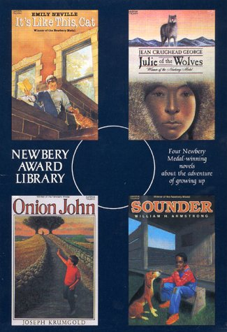 Newbery Award Library Box Set 1: It's Like This Cat / Julie of the Wolves / Onion John / Sounder