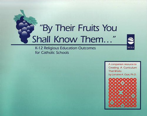By Their Fruits You Shall Know Them