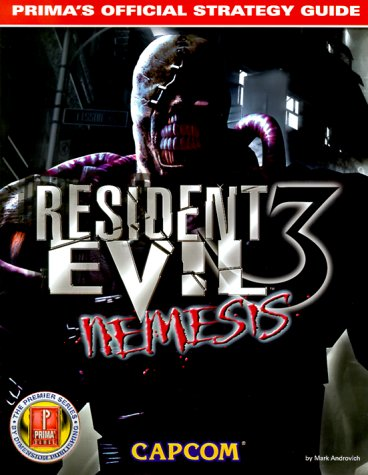 Resident Evil 3 Nemesis Primas Official Strategy Guide