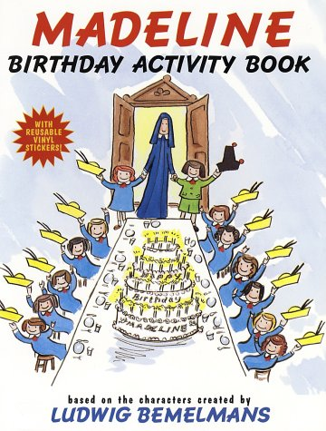 Madeline Birthday Activity Book [With Reusable]