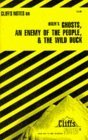 Cliffsnotes Ibsen's Plays II: Ghosts, an Enemy of the People & the Wild Duck