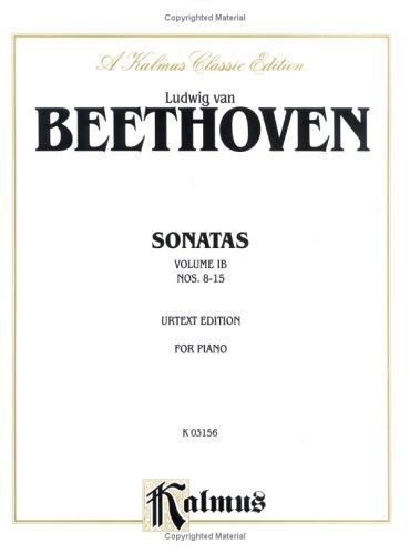 Sonatas (Urtext), Vol 1b: Nos. 8-15
