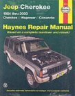 Jeep Cherokee & Comanche Automotive Repair Manual