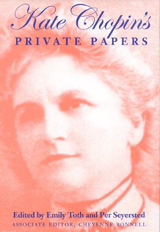 Kate Chopin's Private Papers