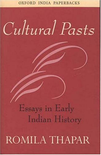 Cultural Pasts: Essays in Early Indian History