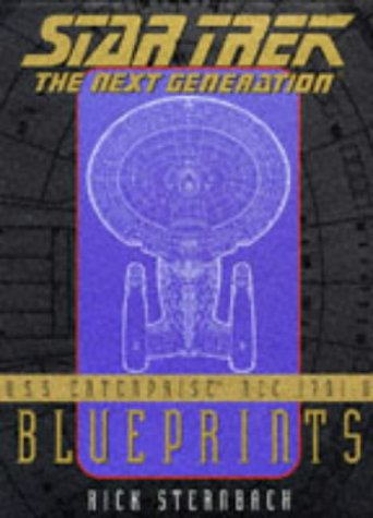 U.S.S. Enterprise Ncc-1701-D Blueprints: Star Trek : The Next Generation (Star Trek: The Next Generation)
