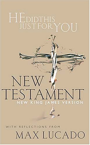 He Did This Just for You New Testament