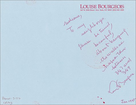 Louise Bourgeois: The Insomnia Drawings