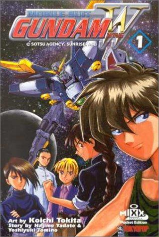 Gundam Wing #1 by Hajime Yatate