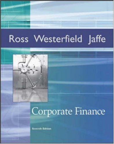 Corporate Finance (Irwin Series in Finance)