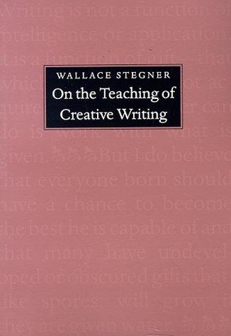 Descargar un ebook de google book mac On the Teaching of Creative Writing: Responses to a Series of Questions