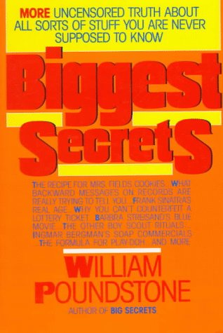 Biggest Secrets by William Poundstone