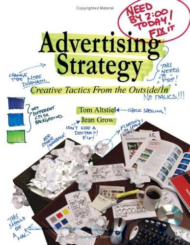 Advertising Strategy by Tom Altstiel