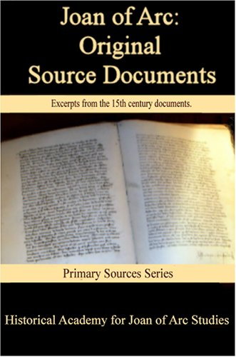 joan of arc original source documents