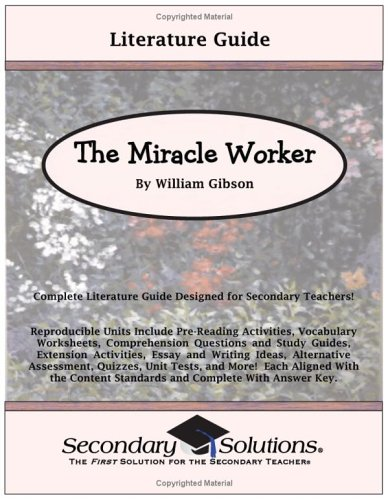 Essay On Business Ethics  Essays About Health Care also High School Essays Examples The Miracle Worker By William Gibson Literature Guide By Kristen Bowers English Essays For High School Students