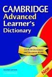 Cambridge Advanced Learner's Dictionary by Elizabeth Walter