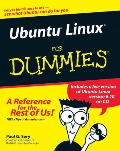 Ubuntu Linux for Dummies [With CD-ROM]