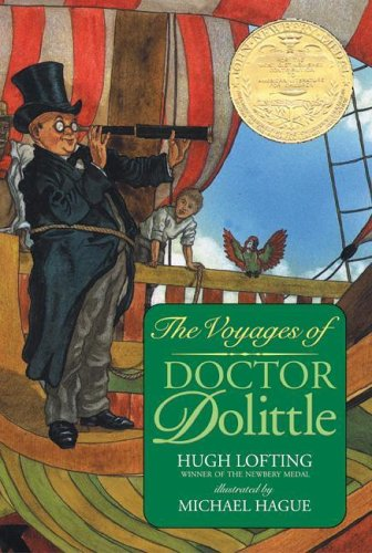 Image result for the voyage of doctor dolittle book newbery