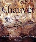 Grotte Chauvet bei Vallon- Pont-d'Arc. Altsteinzeitliche Höhlenkunst im Tal der Ardeche.
