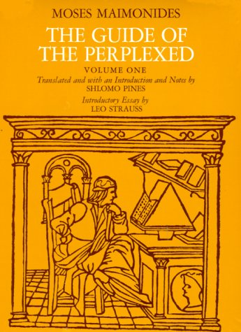 the guide of the perplexed volume 1 by maimonides rh goodreads com book review a guide for the perplexed book review a guide for the perplexed