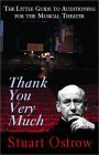 Thank You Very Much: The Little Guide to Auditioning for the Musical Theater