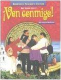 Ven Conmigo! Holt Spanish Level 2 Annotated Teacher's Edition (Holt Spanish Level 2, Level 2)