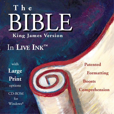Holy Bible:  KJV:  The BIBLE in LIVE INK(tm)