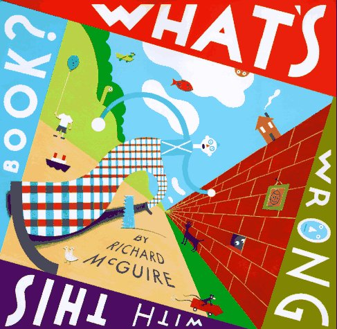 What's Wrong with This Book? by Richard McGuire