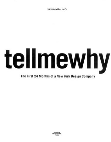 karlssonwilker inc.'s tellmewhy by Clare Jacobson