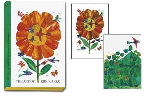 NOT A BOOK PF57 - Art of Eric Carle Portfolio of Notes