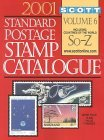 Scott Standard Postage Stamp Catalogue: Volume 6, Countries Solomon Islands-Z