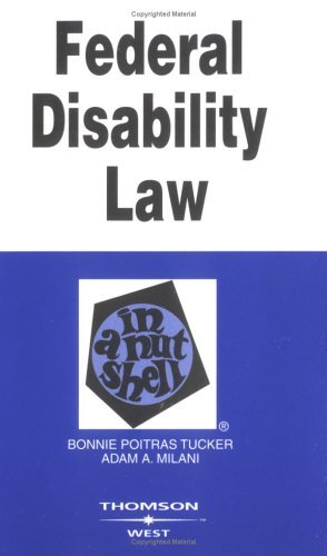 Federal Disability Law in a Nutshell (Nutshell Series)