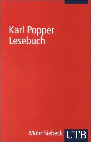 Karl Popper Lesebuch