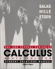 Calculus: One and Several Variables, Student Solutions Manual, Ninth Edition