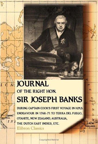 Journal of the Right Hon. Sir Joseph Banks