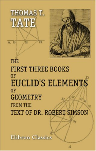 The first three books of euclids elements of geometry from the text 436407 fandeluxe Choice Image