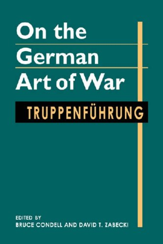 On the German Art of War