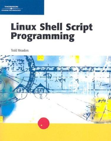 Linux Shell Script Programming
