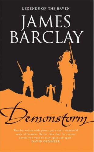 Demonstorm (Legends of the Raven, #3)