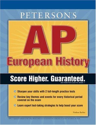 Peterson's AP European History