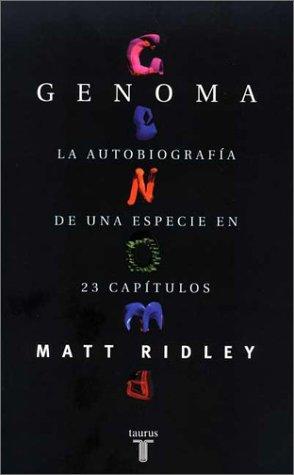 Genoma: La autobiografía de una especie en 23 capítulos