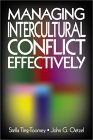 Managing Intercultural Conflict Effectively