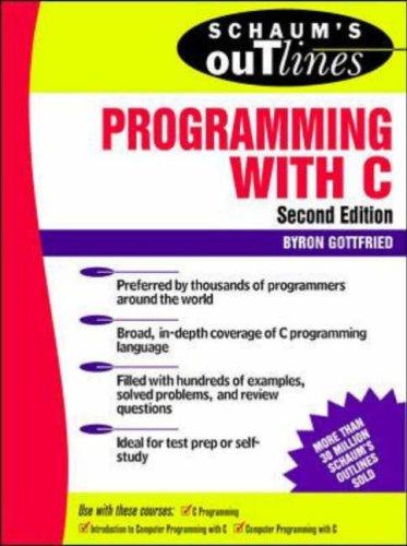Schaum Series C Programming Book