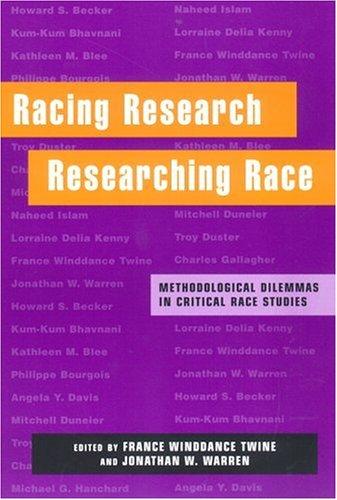 Racing Research, Researching Race by Karl Ittmann