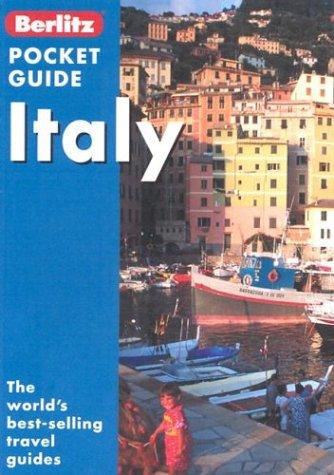 Berlitz Pocket Guide Italy by Berlitz Publishing Company