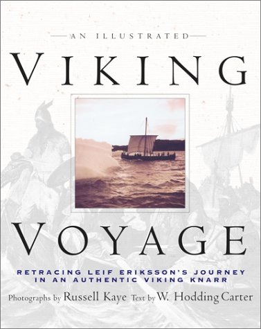 An Illustrated Viking Voyage by Russell Kaye