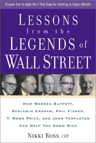 Lessons from the Legends of Wall Street